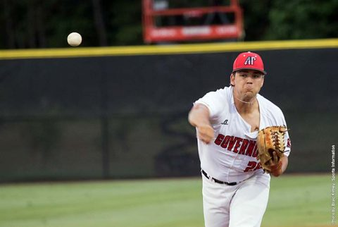 Austin Peay pitcher Landon Kelly throws four scoreless innings in 6-2 win over UT Martin. (APSU Sports Information)