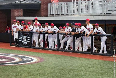 Austin Peay Baseball loses 9-4 to Morehead State Eagles in OVC Baseball Championship action Wednesday night. (APSU Sports Information)