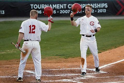 Austin Peay Baseball's Chase Hamilton ties APSU career home run record in loss to Belmont. (APSU Sports Information)