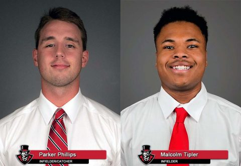 APSU Baseball - Parker Phillips and Malcolm Tipler