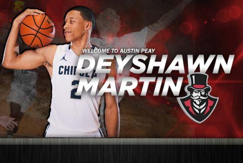 APSU Basketball adds guard Deyshawn Martin. (APSU Sports Information)