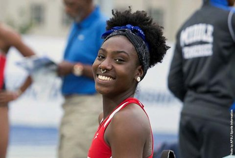 Austin Peay Track and Field's Kaylnn Pitts. (APSU Sports Information)