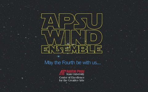 APSU Wind Ensemble to perform outdoor Star Wars concert on May 4th