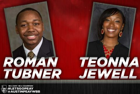 APSU Women's Basketball adds Roman Tubner, Teonna Jewell to coaching staff