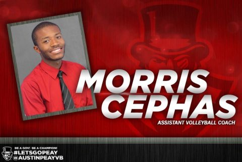 APSU assistant Volleyball Coach Morris Cephas
