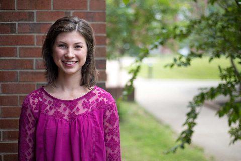 APSU Student Sara Eskildson. (Hunter Abrams, APSU)