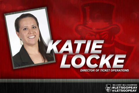 Katie Locke named Austin Peay Director of Ticket Operations. (APSU Sports Information)