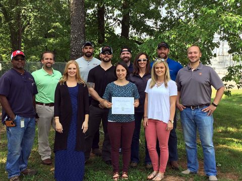Tennessee Governor's Foundation for Health & Wellness names CDE Lightband a Healthier Tennessee Workplace.