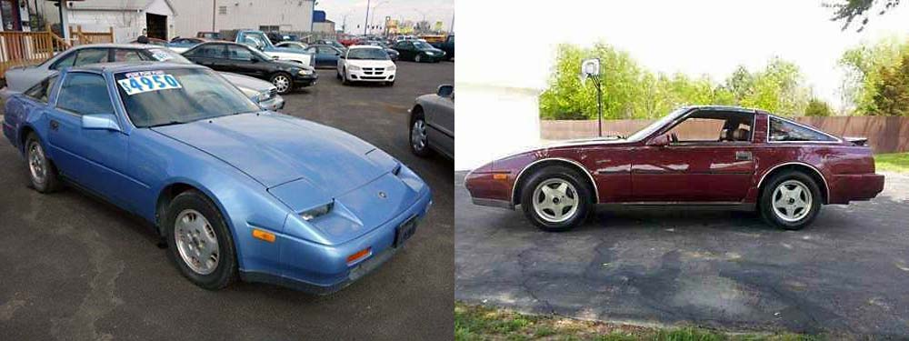 Clarksville Police are trying to locate a 1985 Nissan 300z, Blue, that looks similar to the cars in this photo. Anyone with information can contact Detective Christy Bing, 931.648.0656, ext 5133.