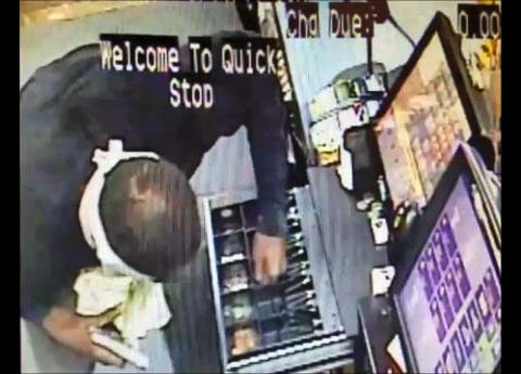 Clarksville Police are trying to identify the robbery susptect in this photo.