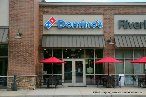 Domino's Pizza on Highway 48 in Clarksville.