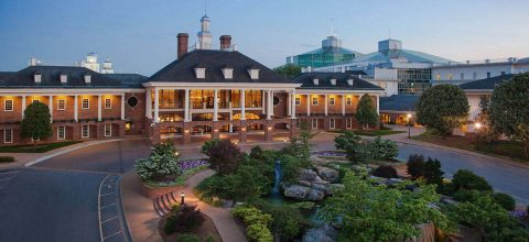 Gaylord Opryland Resort & Convention Center. (Opryland Hotel)