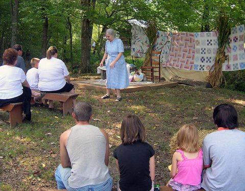 Land Between the Lakes Story Telling at the Homeplace