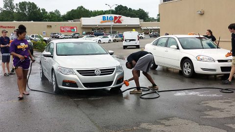 Montgomery County Sheriff's Office Explorers will hold a Car Wash at the Madison Street First Advantage Bank, Saturday.
