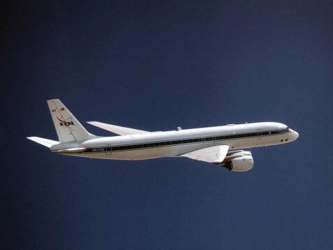 NASA's DC-8 airborne laboratory. (NASA/AFRC)