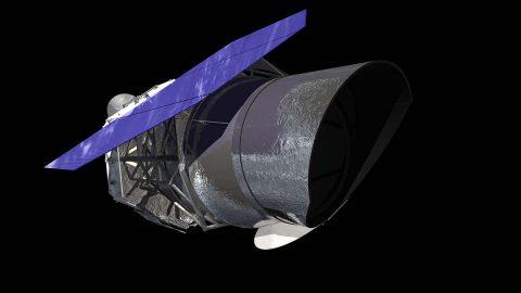 NASA's next generation telescope, the Wide Field Infrared Survey Telescope (WFIRST). (NASA)