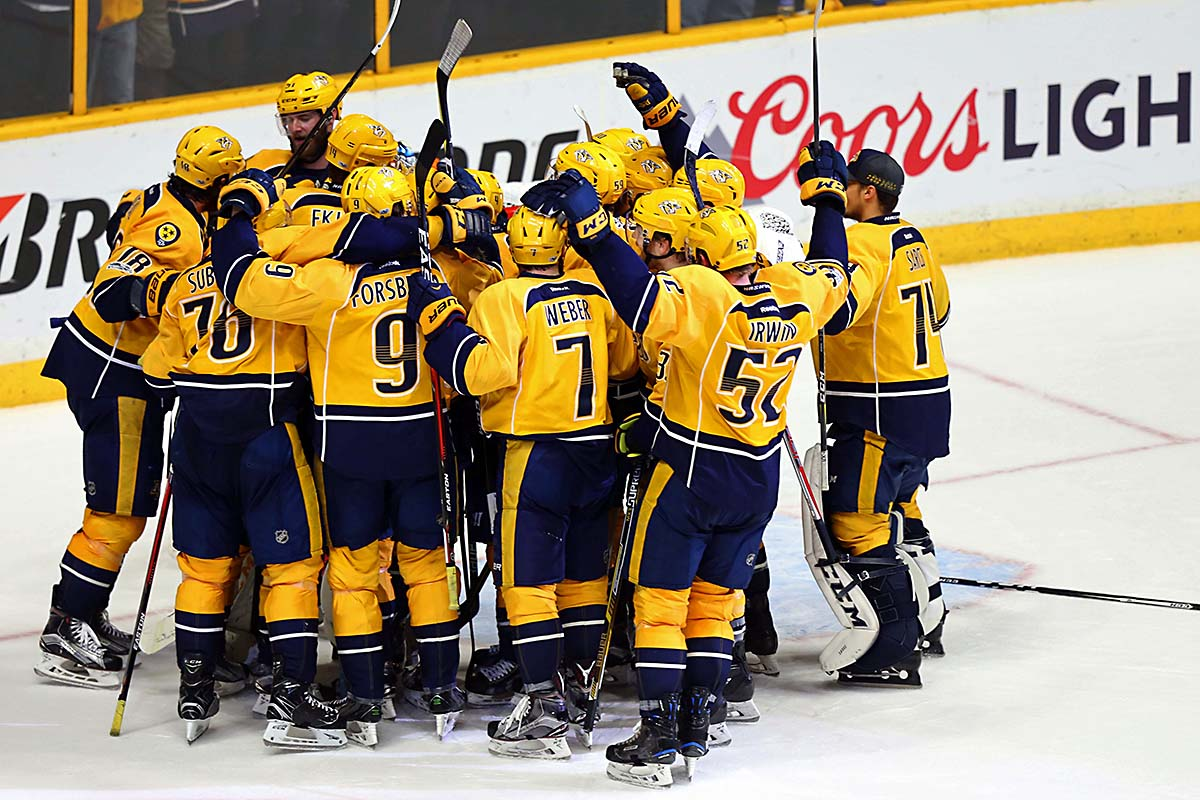 The Blackhawks weren't alone: Predators incredible runs continues to Stanley Cup Final