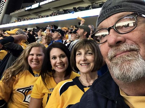 Nashville Predators Fans