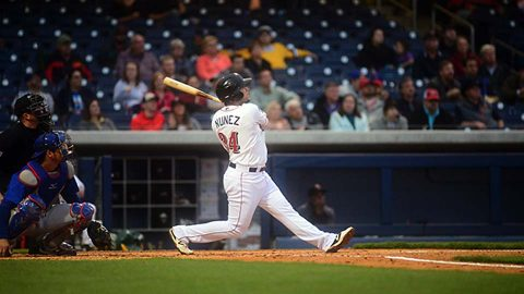 Nashville Sounds Blasts Season-High Five Home Runs in win over Round Rock Express Tuesday night. (Nashville Sounds)