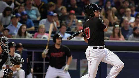 Nashville Sounds Lose Despite Third Straight Multi-Homer Game. (Nashville Sounds)