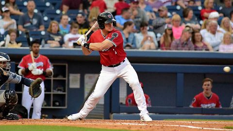 Nashville Sounds loses 5-4 to El Paso Chihuahuas Monday night at First Tennessee Park. (Nashville Sounds)