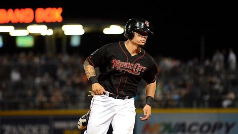 Bruce Maxwell Records Three Hits in Return From Oakland. (Nashville Sounds)
