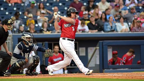 A.J. Reed's Two-Run Blast Gives Fresno Win on Sounds. (Nashville Sounds)