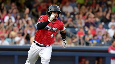 Nashville Sounds sets season-high in runs and hits in series-clinching win over Fresno. (Nashville Sounds)