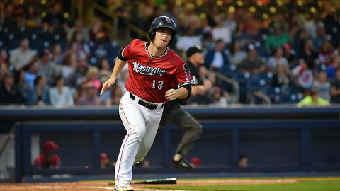 Nashville Sounds Crank Out Two More Big Flys for Sixth Straight Multi-Homer Game. (Nashville Sounds)