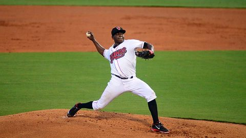 Jharel Cotton Fans Nine While Matt Olson Records Four Hits in Nashville Sounds Victory. (Nashville Sounds)