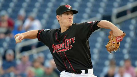 Nashville Sounds pitcher Daniel Gossett Throws Career-High Eight Scoreless Innings. (Nashville Sounds)