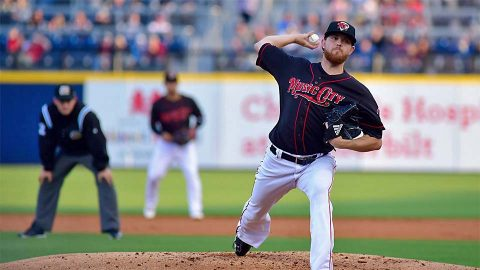 Nashville Sounds Offense Employs Small Ball While Pitcher Paul Blackburn Shines. (Nashville Sounds)