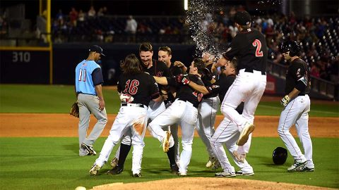 Ryan Lavarnway's Game-Winner Keeps Nashville Sounds Above .500. (Nashville Sounds)