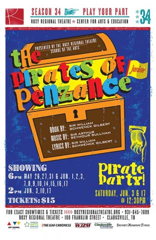 The Pirates of Penzance, Jr.