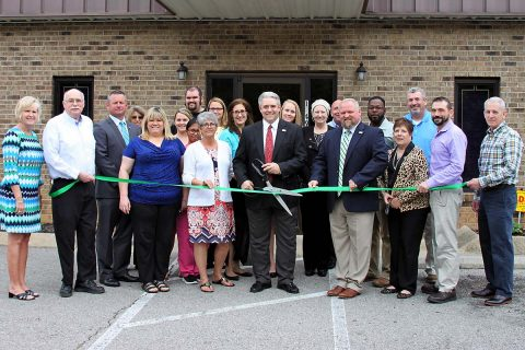 Progressive Directions Incorporated Green Ribbon cutting Ceremony.