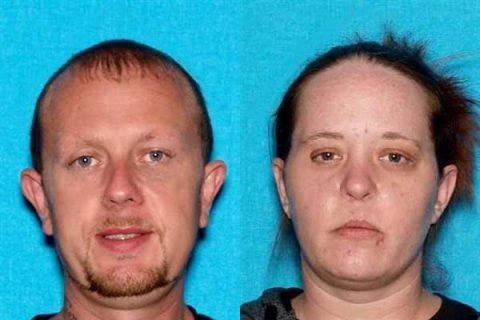Thomas Nelson is believed to be in Davidson County with (L) Randell Bowman and (R) Tabitha Kestner.