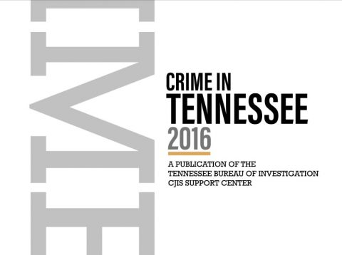 2016 Crime in Tennessee Report