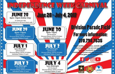 2017 Fort Campbell Independence Week Carnival