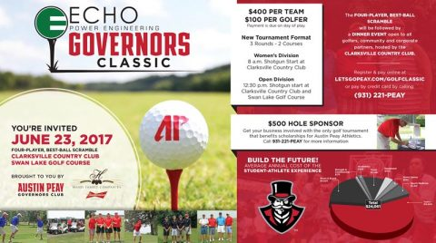 2017 APSU Govenrors Golf Classic