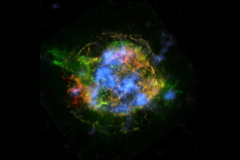 The mystery of how Cassiopeia A exploded is unraveling thanks to new data from NASA's Nuclear Spectroscopic Telescope Array, or NuSTAR. (NASA/JPL-Caltech/CXC/SAO)