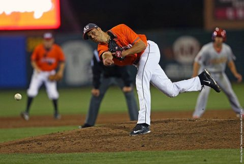 Austin Peay Baseball alumnus Tyler Rogers. (Ralph Thompson, Sacramento River Cats)