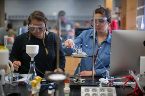 Austin Peay State University Chemistry Class. (APSU)