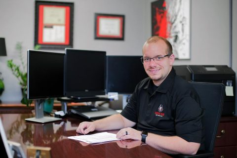 Austin Peay State University's Office of Financial Aid associate director Johnathan Button.