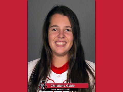 Former APSU Softball player Christiana Gable