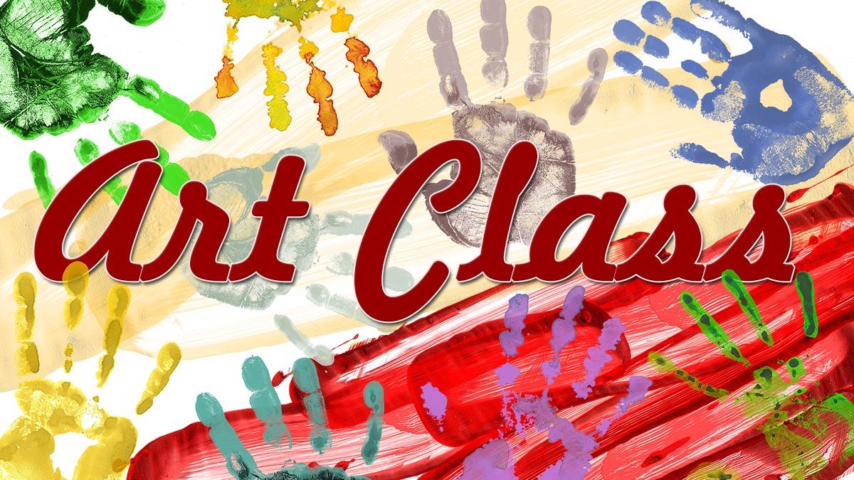 Teen art classes held