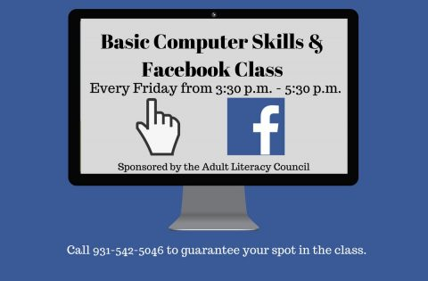 Clarksville-Montgomery County Public Library to hold Basic Computer Skills and Facebook Class every Friday