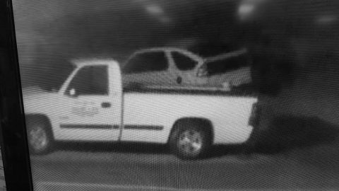 Clarksville Police requests public help locating a white Pontiac Aztec used in a burglary.
