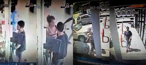Clarksville Police are trying to identify the male and female in these photos in connection to the theft of a Ford Expedition from the Mapco on Fort Campbell Boulevard. Photos are from the Circle K.