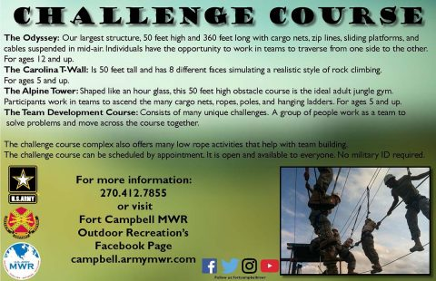 Fort Campbell Challenge Course
