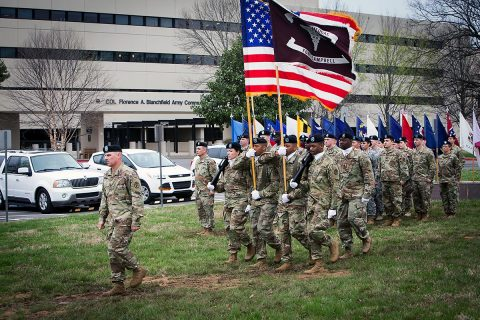 Blanchfield Army Community Hospital will host a change of battalion command ceremony June 30th, 2017. (U.S. Army photo by David E. Gillespie)